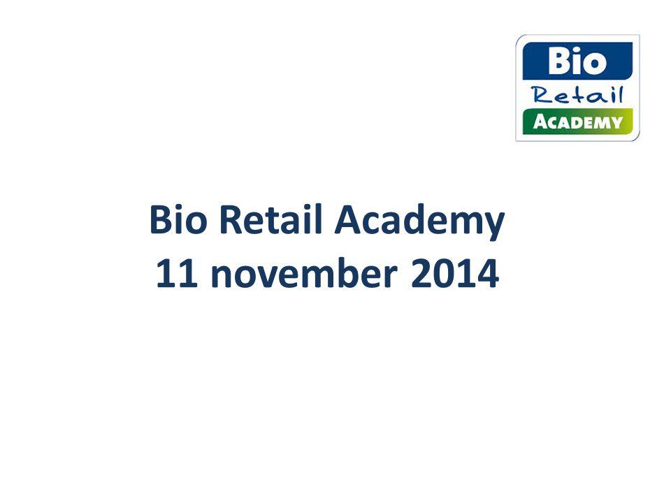 Bio Retail Academy 11 november 2014