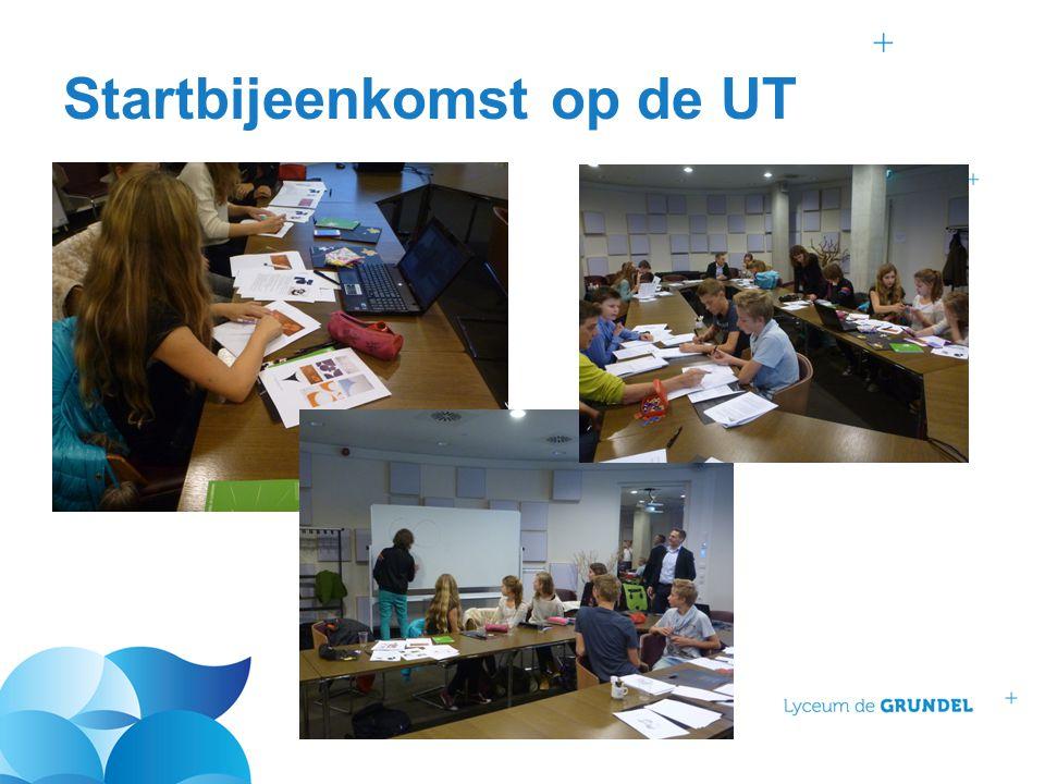 Startbijeenkomst op de UT