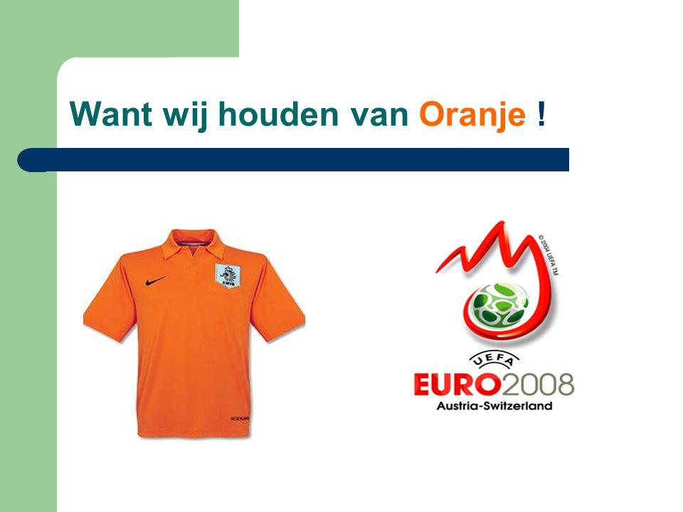 Nederland Supports Oranje