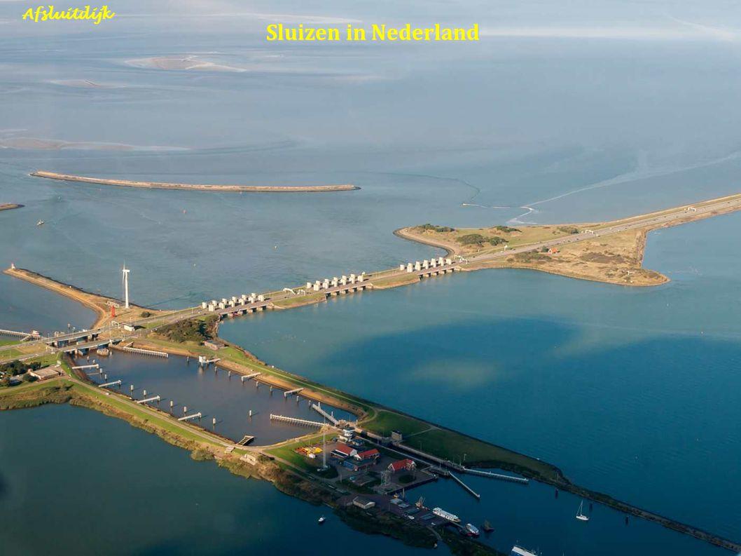 Sluizen in Nederland Afsluitdijk