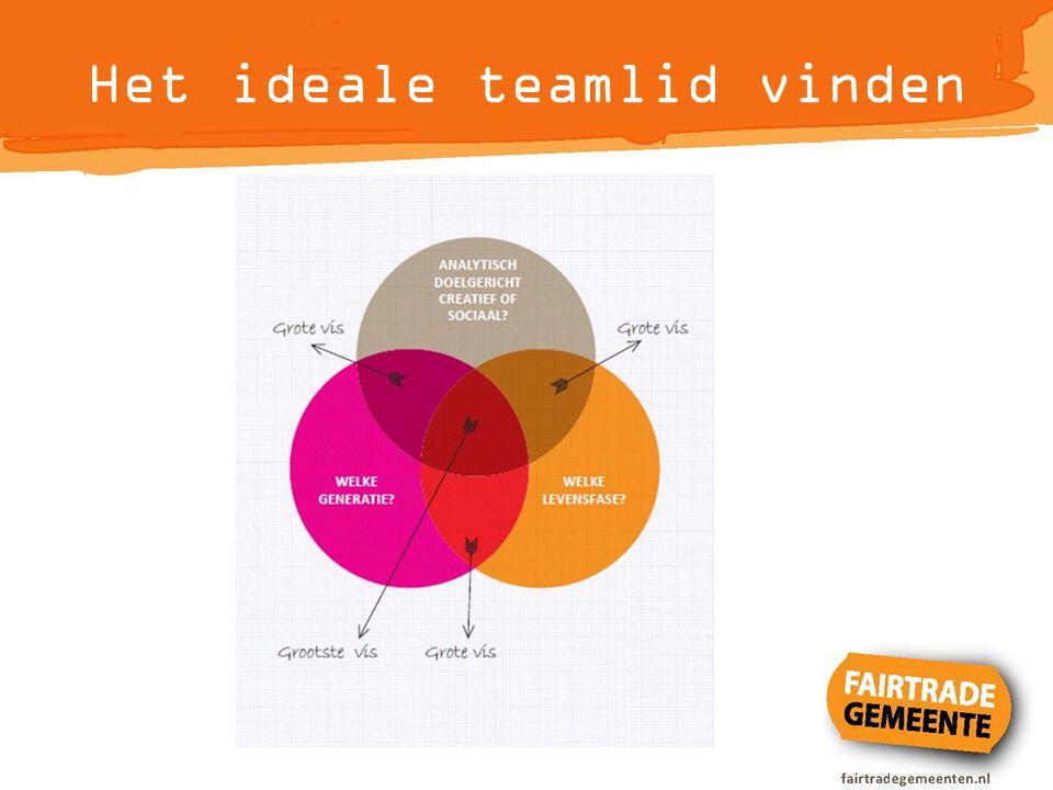Het ideale teamlid vinden