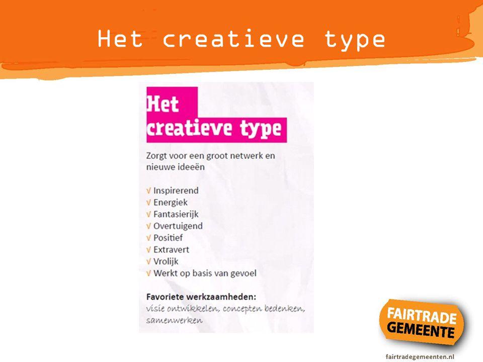Het creatieve type