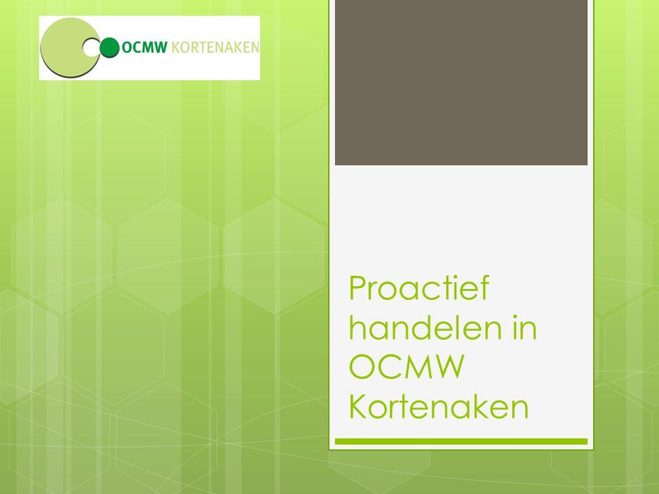 Proactief handelen in OCMW Kortenaken