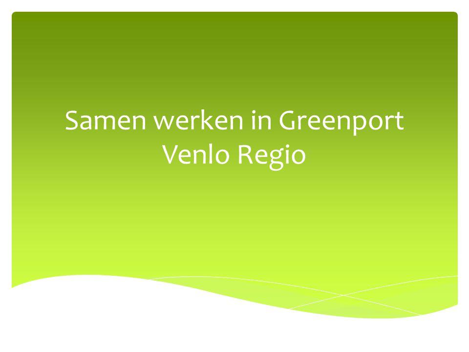 Samen werken in Greenport Venlo Regio