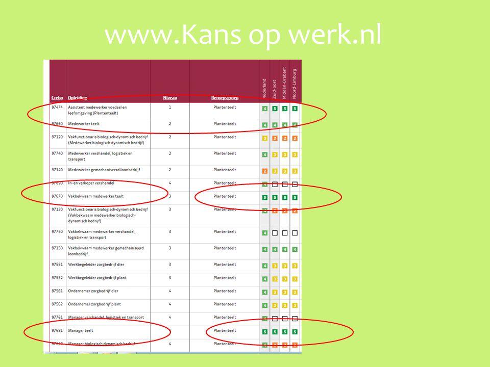 www.Kans op werk.nl