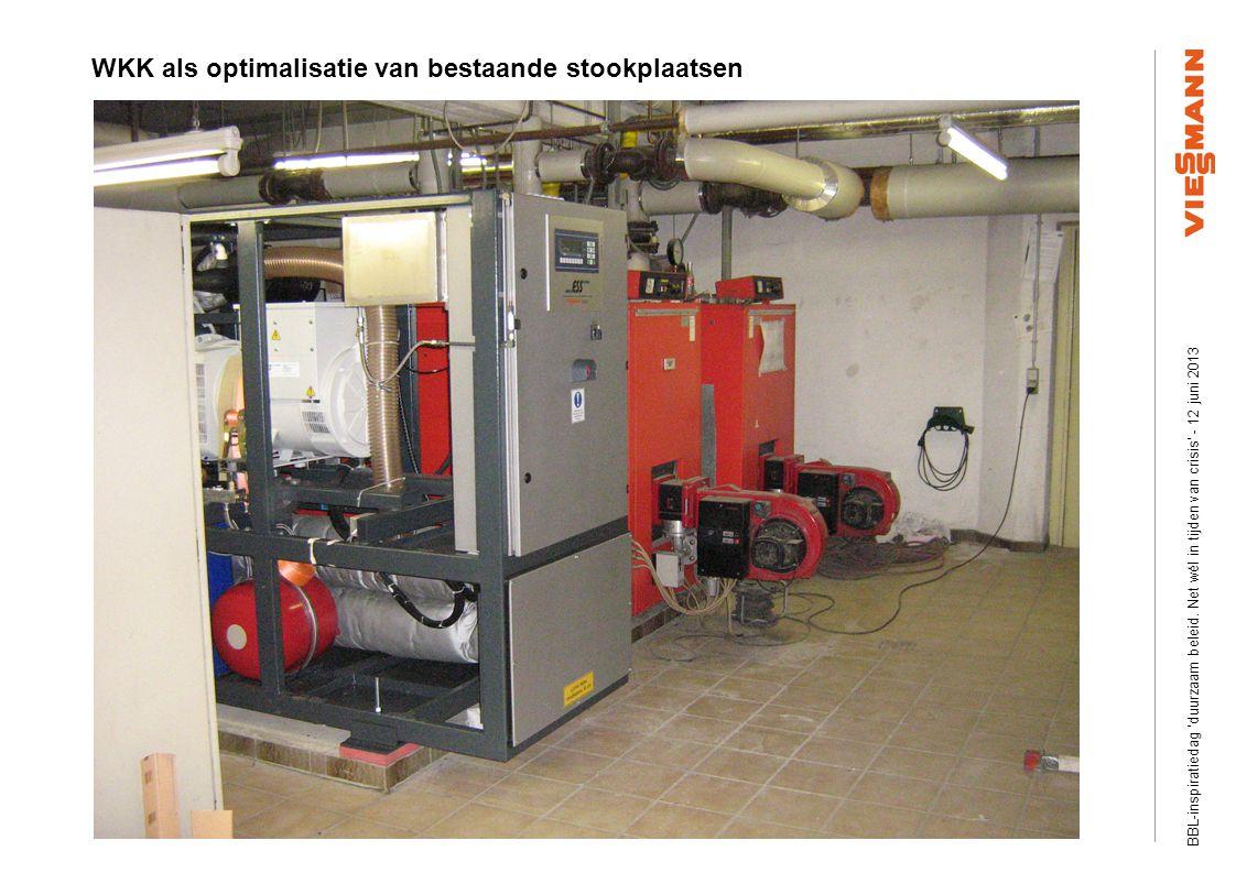 Efficiency Plus Information visits Slide ‹nr.›03/2008 © Viessmann Werke WKK als optimalisatie van bestaande stookplaatsen BBL-inspiratiedag duurzaam beleid.