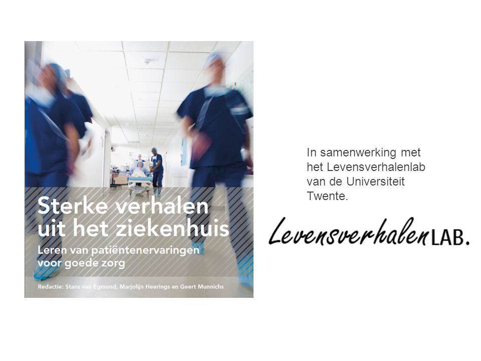 In samenwerking met het Levensverhalenlab van de Universiteit Twente.