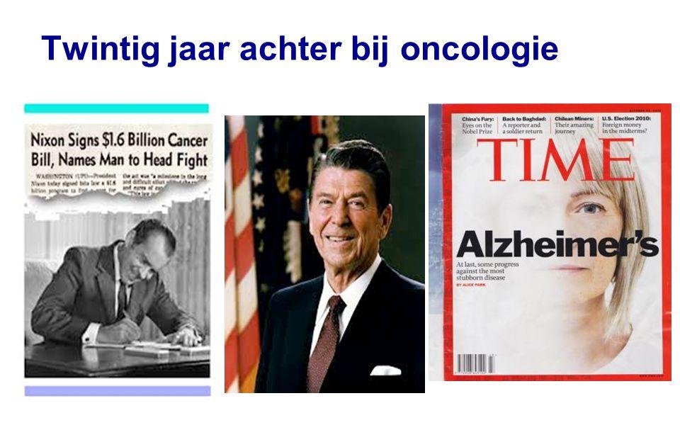 Twintig jaar achter bij oncologie