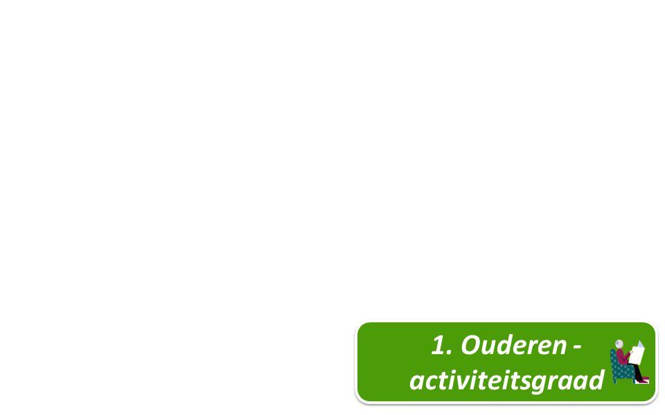 7 1. Ouderen - activiteitsgraad