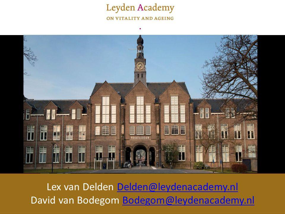 Lex van Delden Delden@leydenacademy.nlDelden@leydenacademy.nl David van Bodegom Bodegom@leydenacademy.nlBodegom@leydenacademy.nl