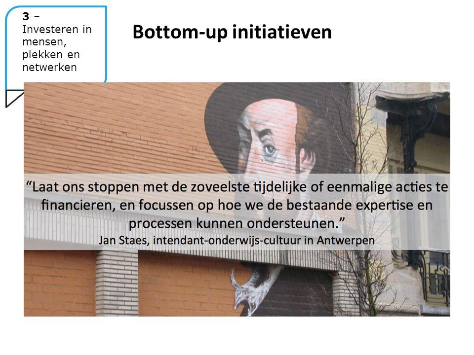 Bottom-up initiatieven 3 – Investeren in mensen, plekken en netwerken