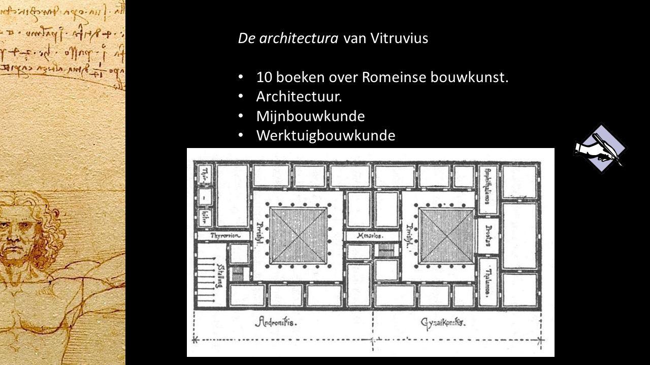 De architectura van Vitruvius 10 boeken over Romeinse bouwkunst. Architectuur. Mijnbouwkunde Werktuigbouwkunde