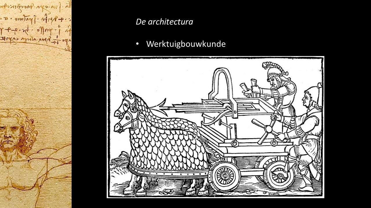 De architectura Werktuigbouwkunde