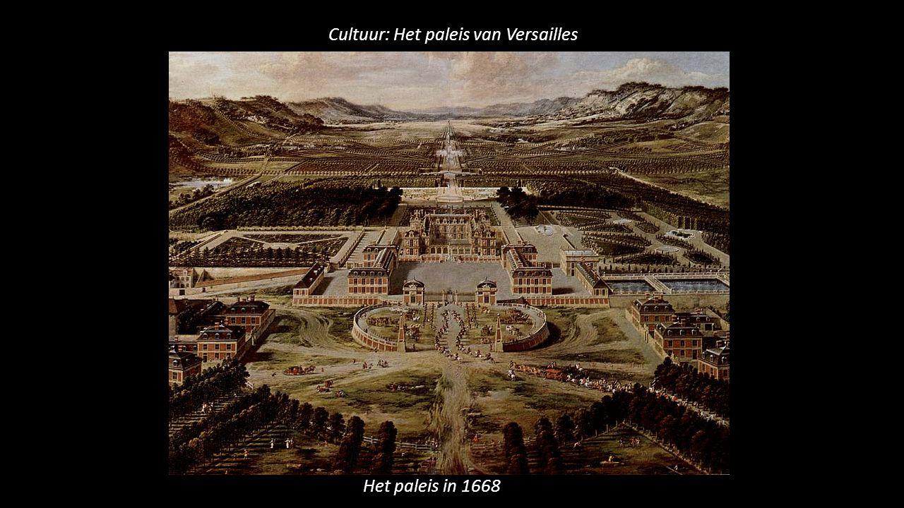 Cultuur: Het paleis van Versailles Het paleis in 1668