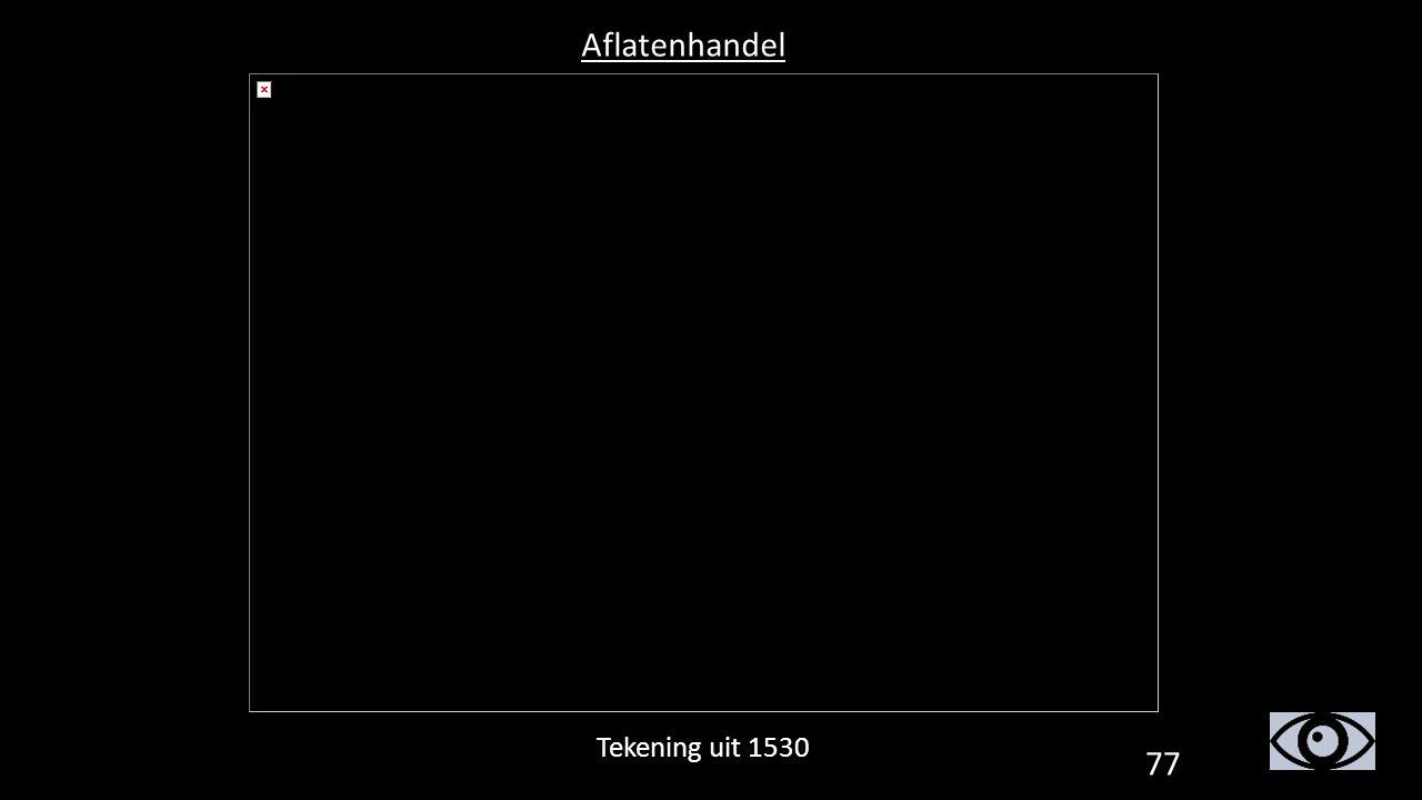 Aflatenhandel Tekening uit 1530 77
