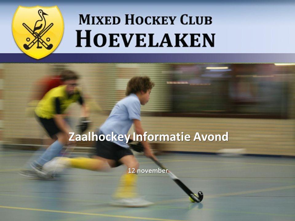 Zaalhockey Informatie Avond 12 november