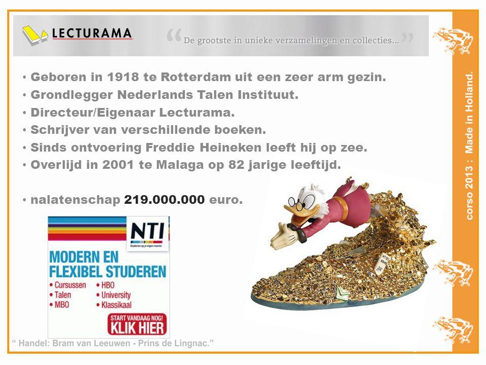 Geboren in 1918 te Rotterdam uit een zeer arm gezin.