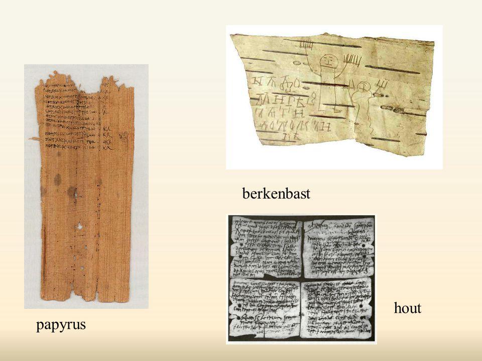 papyrus berkenbast hout