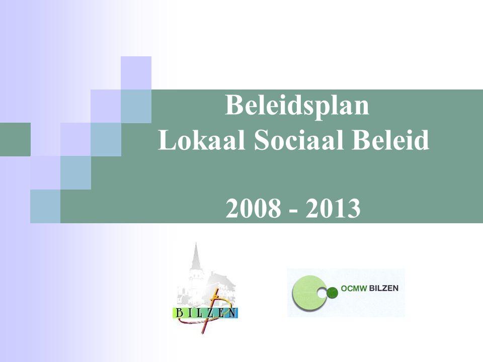Beleidsplan Lokaal Sociaal Beleid 2008 - 2013