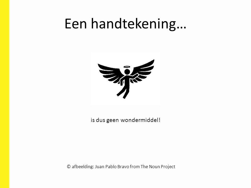 Een handtekening… is dus geen wondermiddel! © afbeelding: Juan Pablo Bravo from The Noun Project