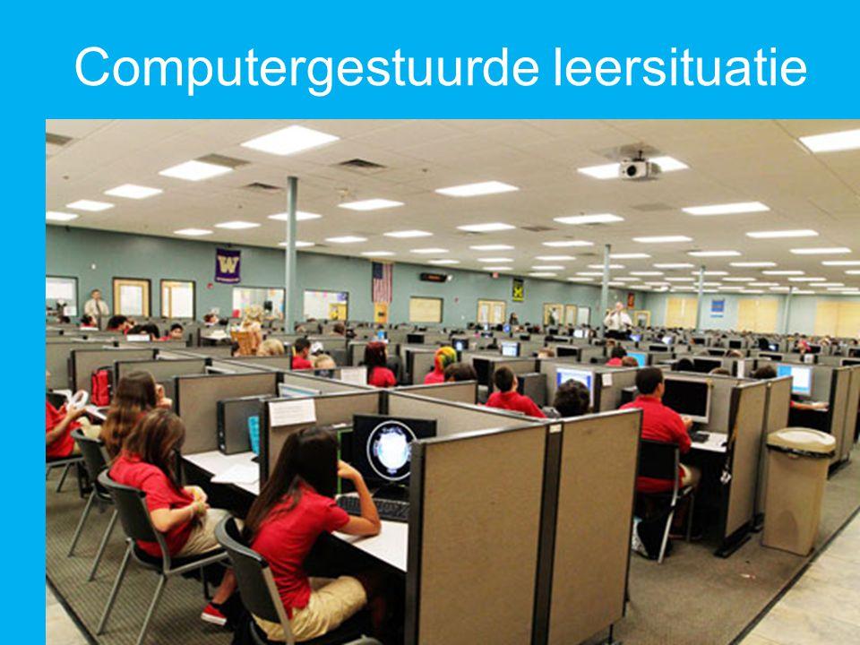 Computergestuurde leersituatie
