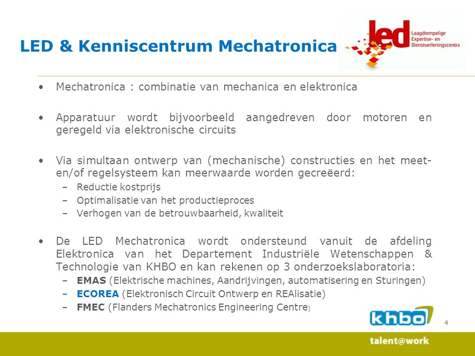 35 LED case 1 : Remote audio channel selector Onderzoekslab ECOREA : LED cases
