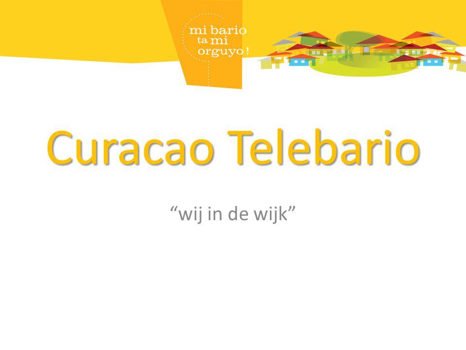 """Curacao Telebario """"wij in de wijk"""""""