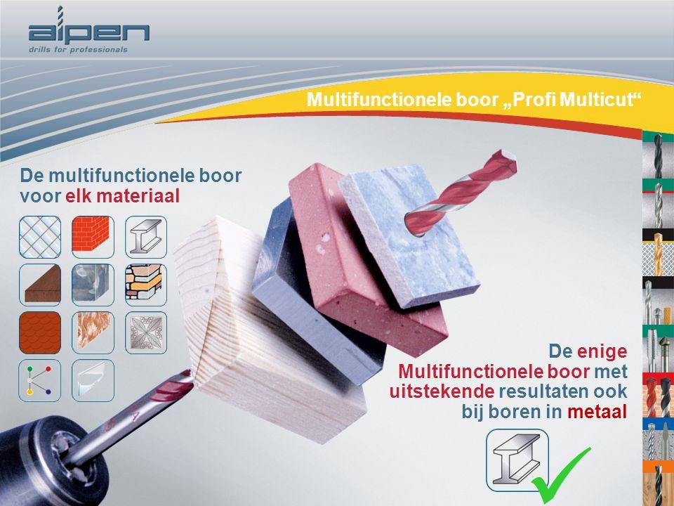 "Steinbohrer ""Long Life""Multifunctionele boor ""Profi Multicut"" De multifunctionele boor voor elk materiaal De enige Multifunctionele boor met uitsteken"