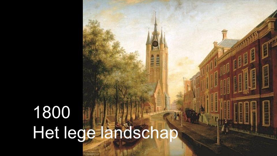 1800 Het lege landschap