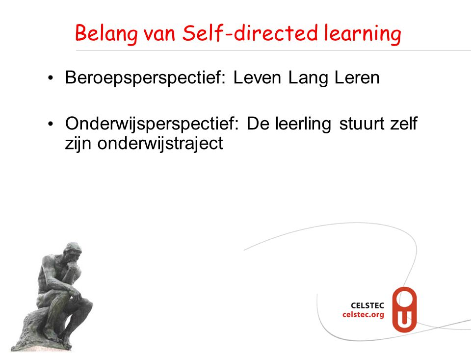 Wat is Self-directed learning.