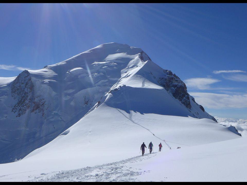 Mont Blanc - 4810 meter 6 mannen – middelbare leeftijd 2 grote problemen: -Weer (planning maanden eerder gemaakt) -(te) veel focus op een doel...