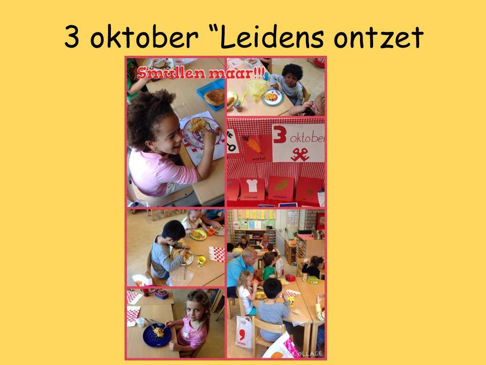 "3 oktober ""Leidens ontzet"