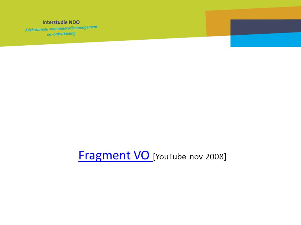 Fragment VO Fragment VO [YouTube nov 2008]