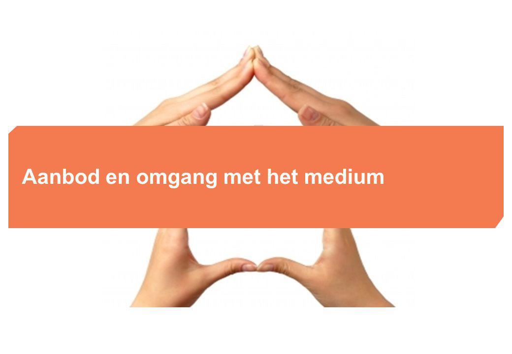 Aanbod en omgang met het medium