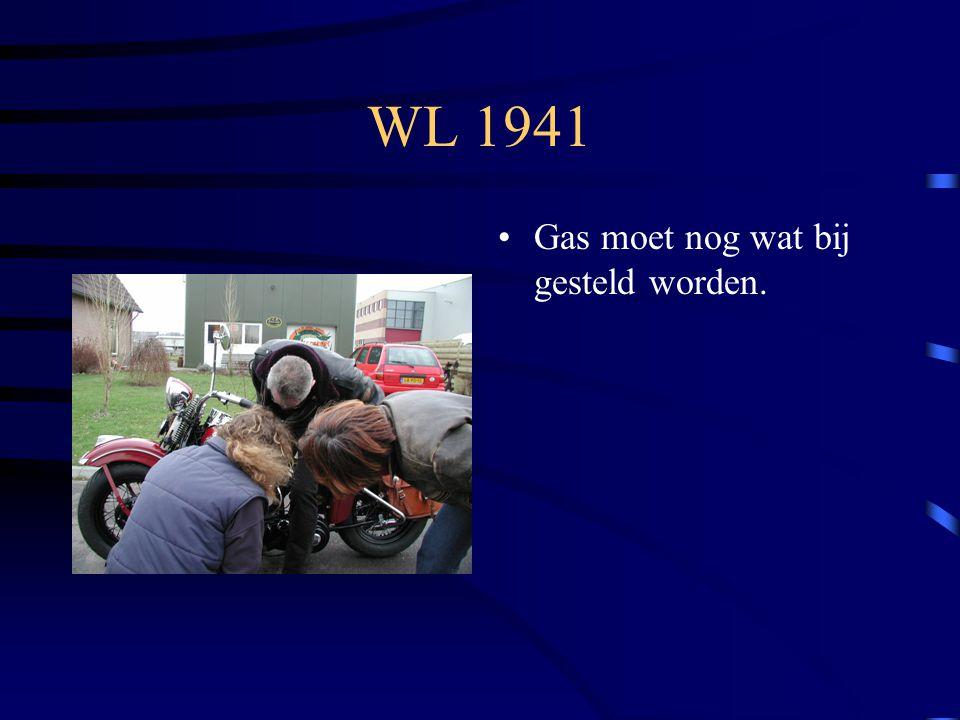 WL 1941 Gas moet nog wat bij gesteld worden.