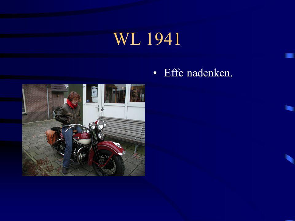 WL 1941 Zo ziet dat eruit door de achterruit.