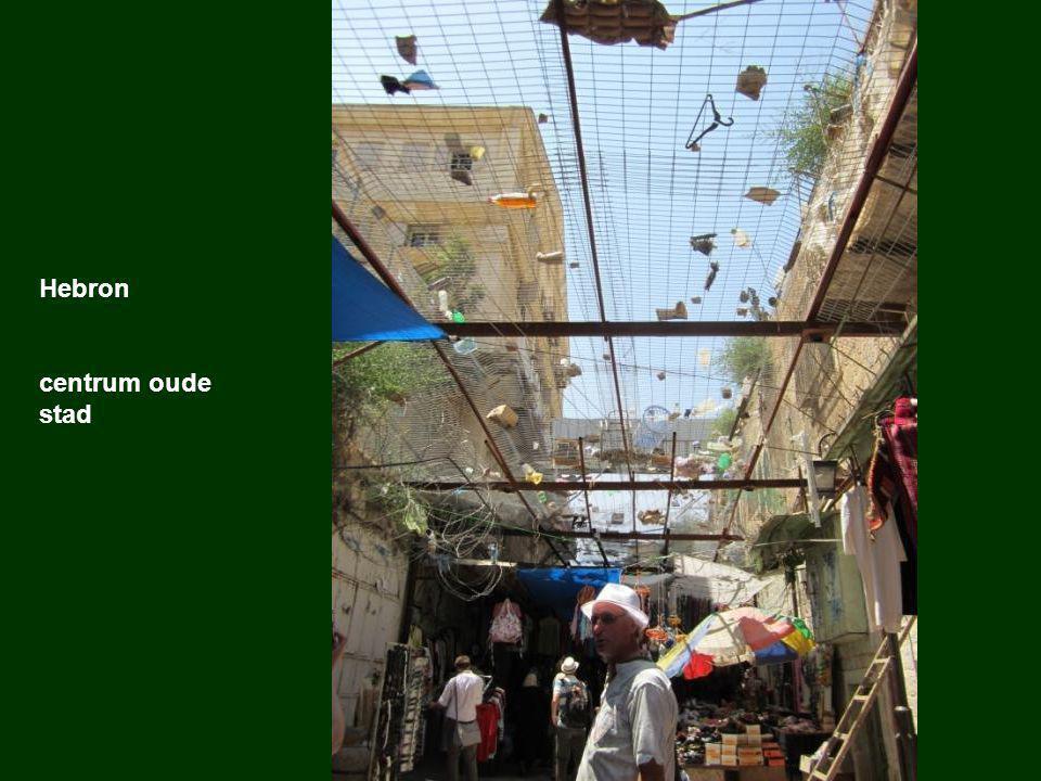 Hebron centrum oude stad