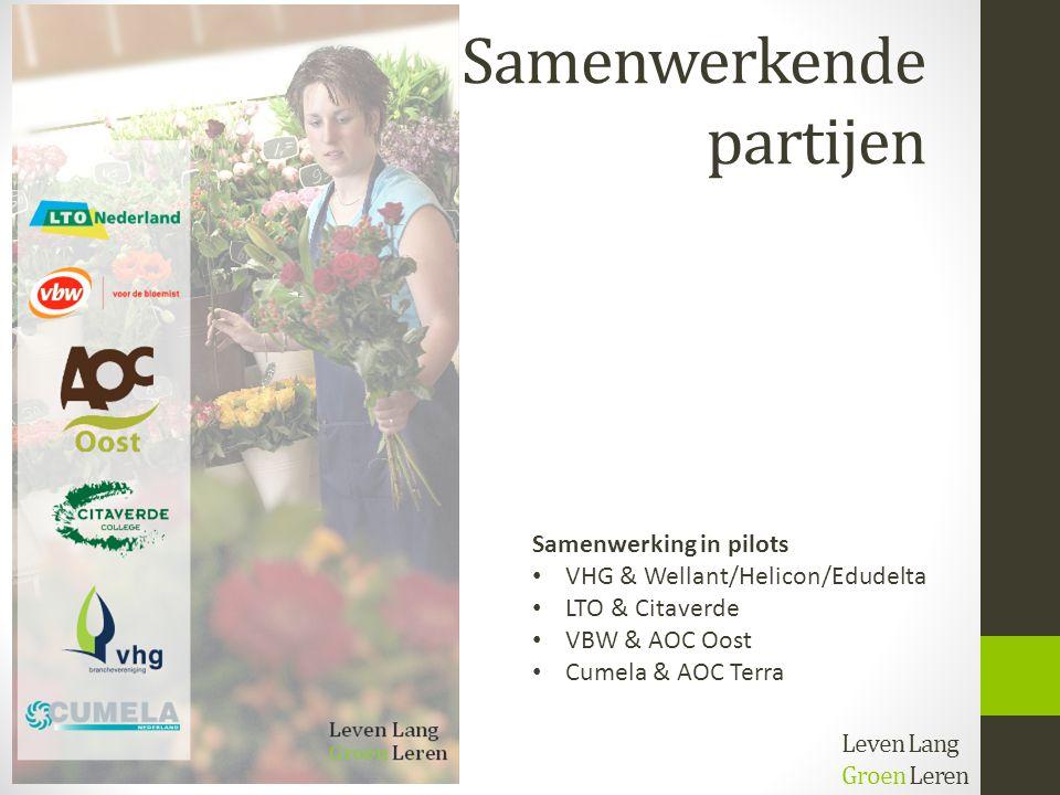 Stelling 2 Onderwijs én bedrijfsleven zijn samen verantwoordelijk voor kwaliteit én imago van de groene opleidingen Leven Lang Groen Leren