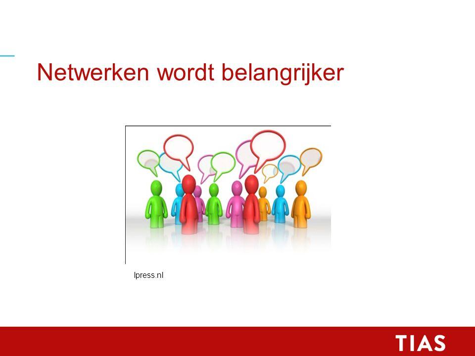 Netwerken wordt belangrijker Ipress.nl