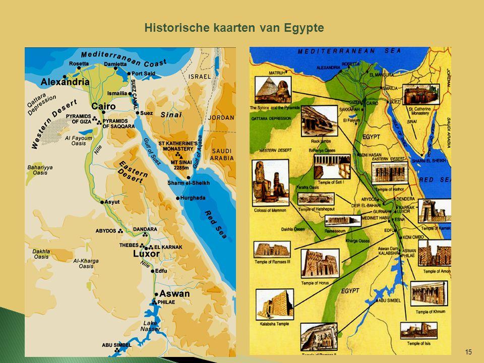 Historische kaarten van Egypte 15