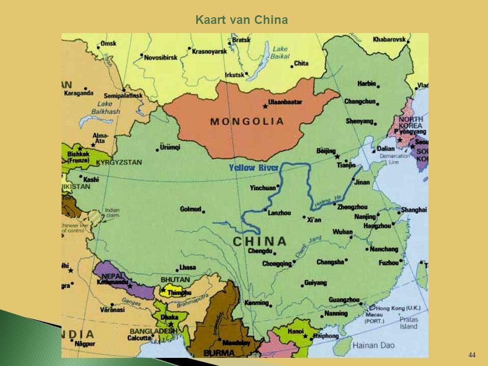 Kaart van China 44