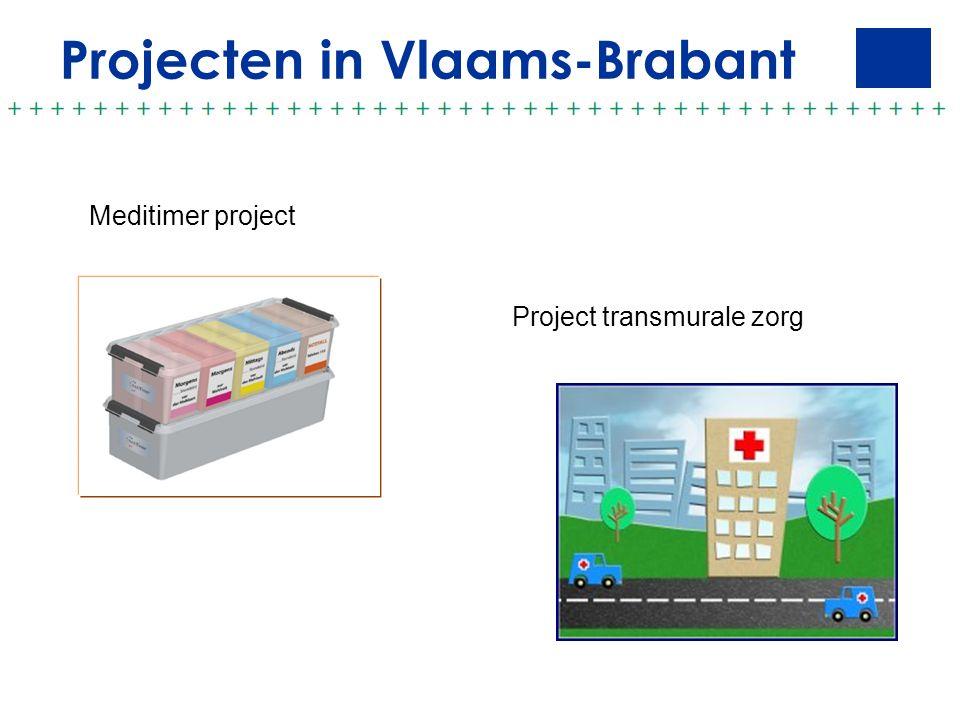 Projecten in Vlaams-Brabant Meditimer project Project transmurale zorg