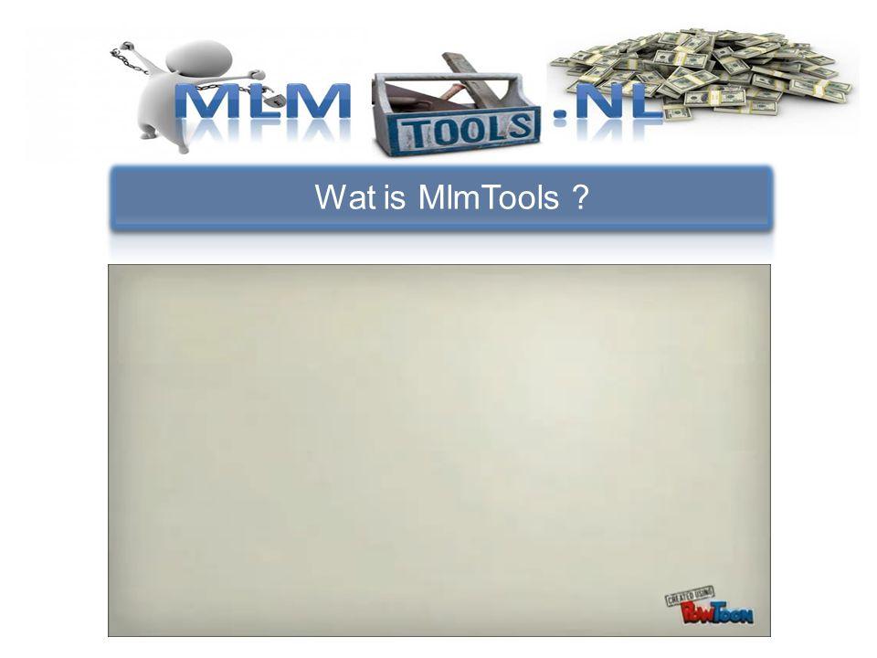 Wat is MlmTools