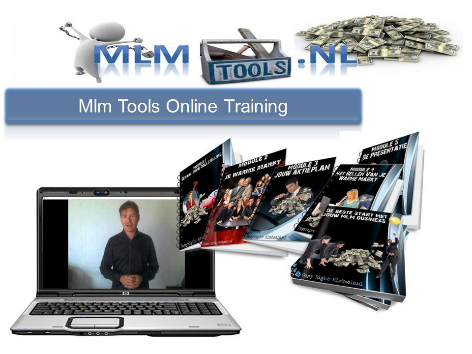 Bepaal je doelstelling Wat leer je bij mlm tools Maak een planning Hoe maak je een onuitputbare lijst van mensen die op zoek zijn naar extra inkomsten Gesprekstechnieken via de telefoon Hoe en op welke manieren presenteer je de business.