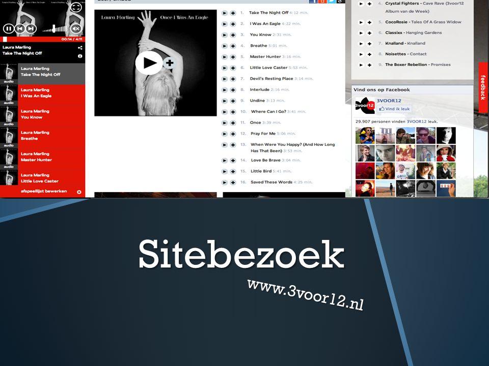 Sitebezoek www.3voor12.nl