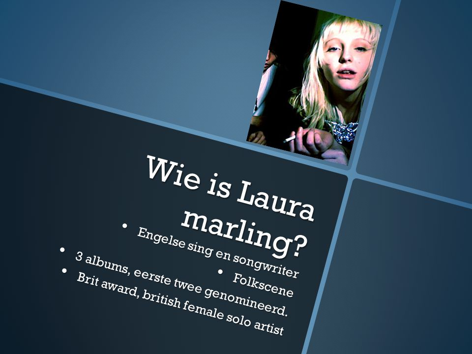 Wie is Laura marling.