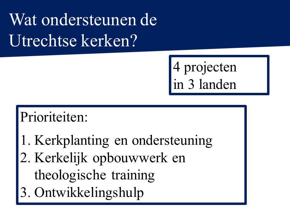 Wat ondersteunen de Utrechtse kerken.