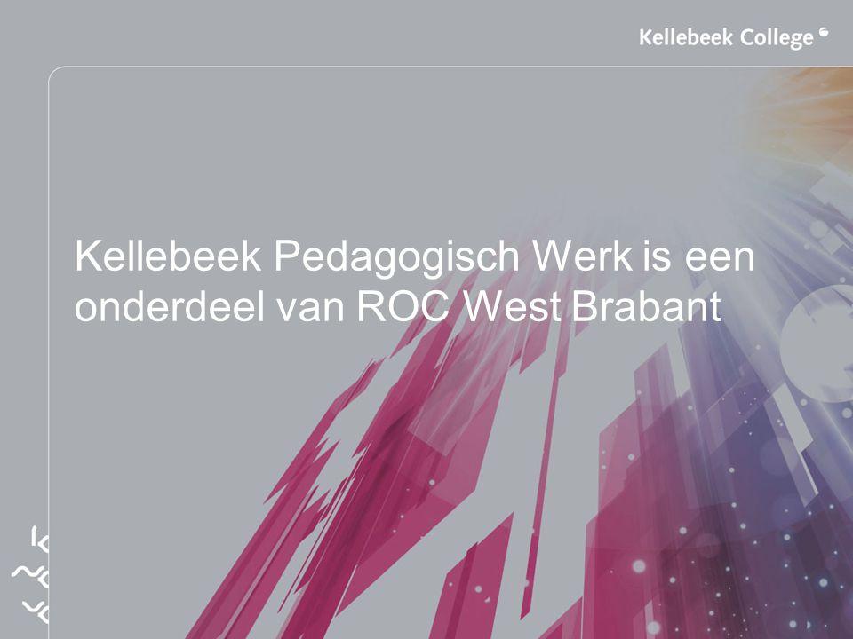 Kellebeek Pedagogisch Werk is een onderdeel van ROC West Brabant