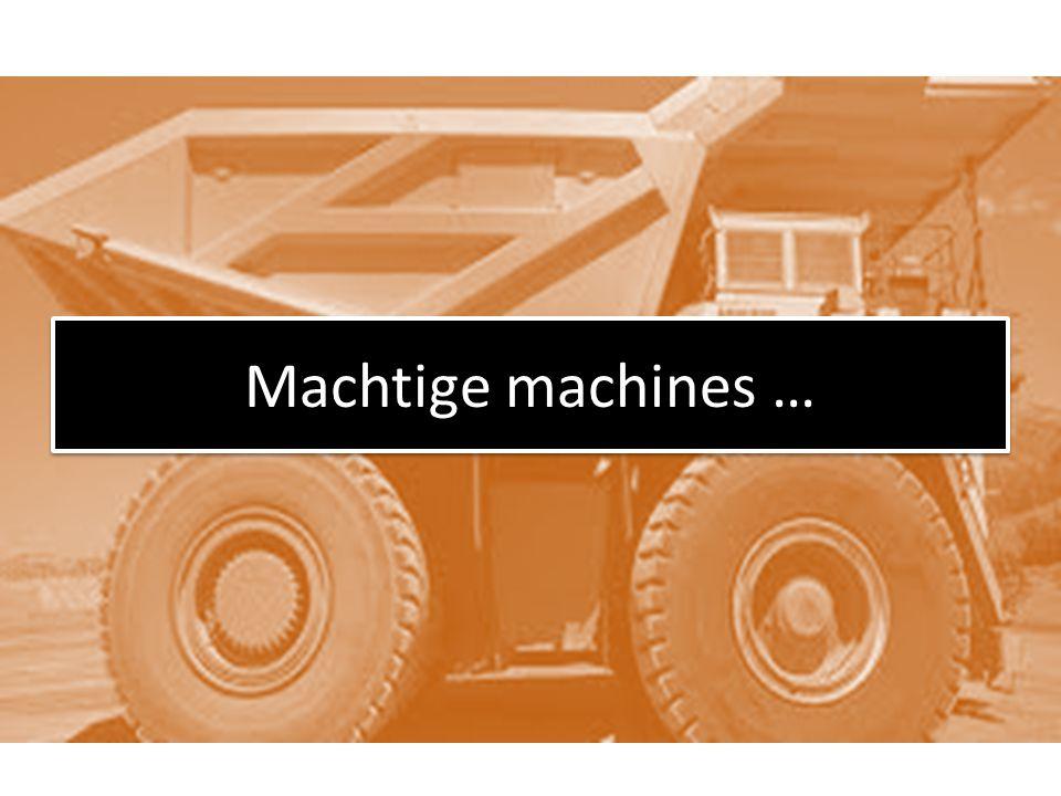 Grootste bulldozer 2300 pk (paardenkracht) weegt 258 ton diameter banden 4 m breedte banden 1,8 m heft tot 72 ton grijpt in één keer 40 m 3 LeTourneau L-2350
