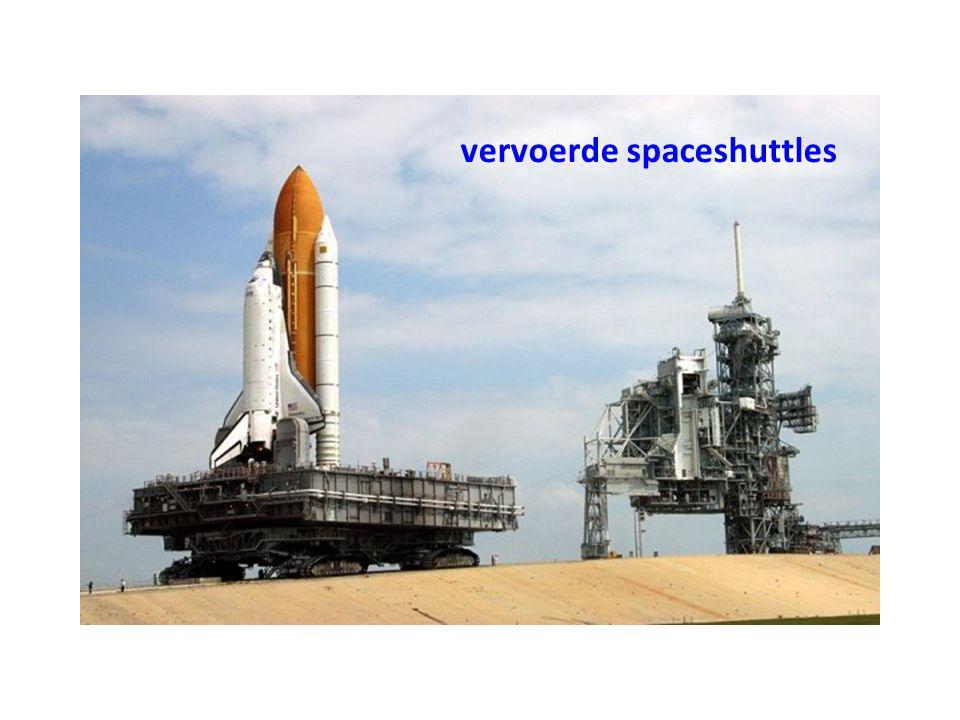 vervoerde spaceshuttles